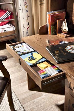 Cilek PIRATE Schreibtisch Tisch Kinderschreibtisch Braun – Bild 4