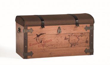 Cilek PIRATE Truhe Kiste Aufbewahrungstruhe Schatztruhe Braun – Bild 1