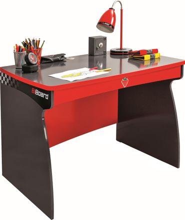 Cilek CHAMPION RACER Schreibtisch Tisch Kindertisch Grau/Rot – Bild 1