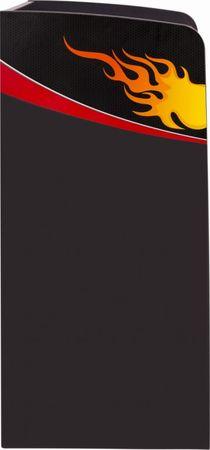 Cilek CHAMPION RACER Bücherregal Regal Schrank Grau/Rot – Bild 3
