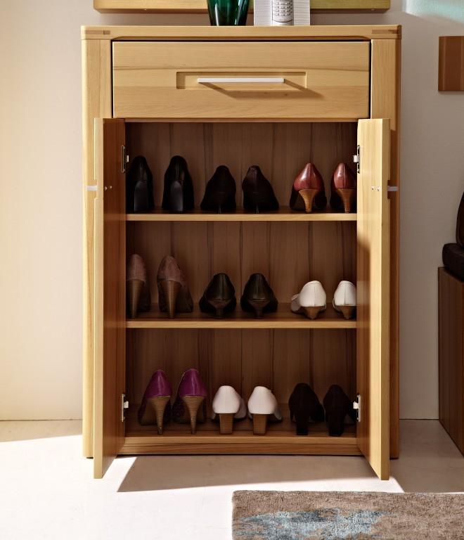 woodtree schuhschrank schuhe garderobe kernbuche diele. Black Bedroom Furniture Sets. Home Design Ideas