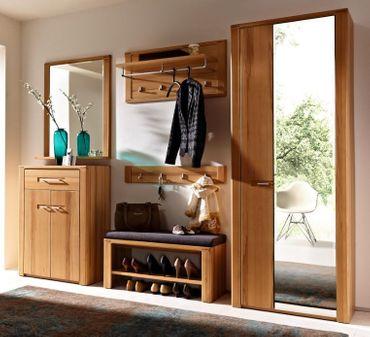 WOODTREE Garderoben-Kombination Garderobe Garderobenschrank Garderobenset – Bild 1