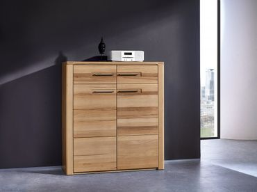 WOODTREE Kommode Sideboard Anrichte Regal Schrank – Bild 2