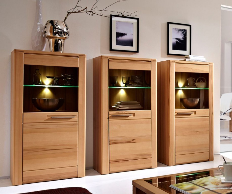 3x woodtree sideboard schrankwand wohnzimmerkombination. Black Bedroom Furniture Sets. Home Design Ideas