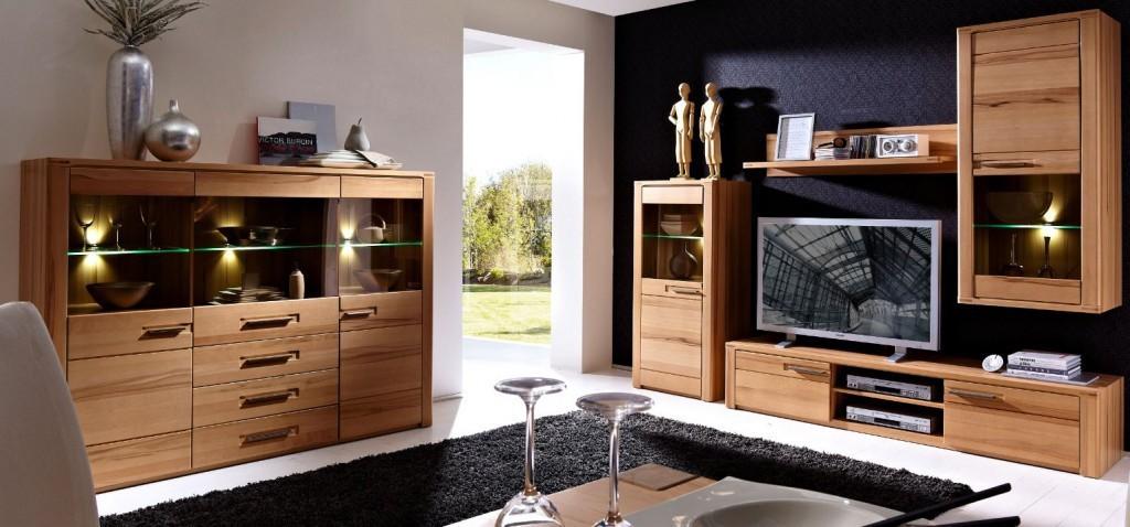 Nature Plus Wohnzimmer Komplettset Wohnzimmerkombination Wohnwand