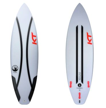 KT Crusher Pro Shortboard Thruster 2018