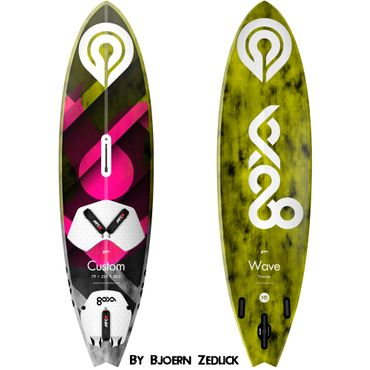 Goya Custom Thruster Pro Wave Windsurf Board 2019