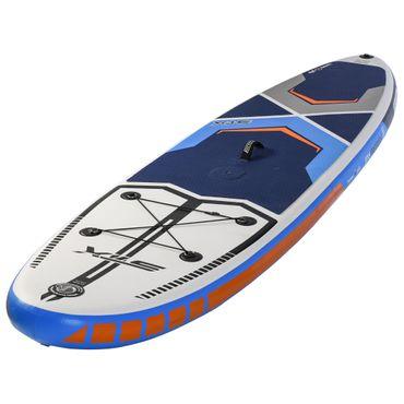 "STX SUP Inflatable Freeride iSUP 10'6"" x 32 x 6' 260L WS-Option Blue White Orange  – Bild 1"