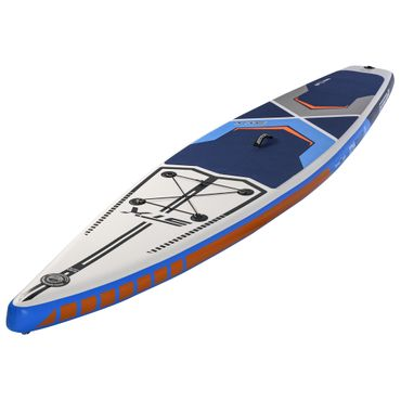 "STX SUP Inflatable Race iSUP 12'6"" x 32 x 6' 350L Blue White Orange 2019"