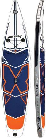 "STX SUP Inflatable XLIGHT Tourer iSUP 11'6"" x 32 x 6' 270L Blue Orange 2019 – Bild 1"