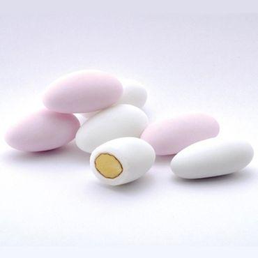 Hochzeitsmandeln 1 kg weiß oder rosa