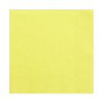 Papierservietten gelb 33 x 33 cm 3-lagig 20 Stück