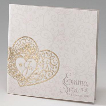 """Einladungskarte Hochzeit """"Martina"""", 723064"""