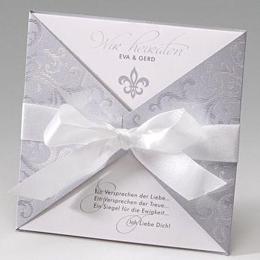 """Einladungskarte Hochzeit """"Victoria"""", 723070"""