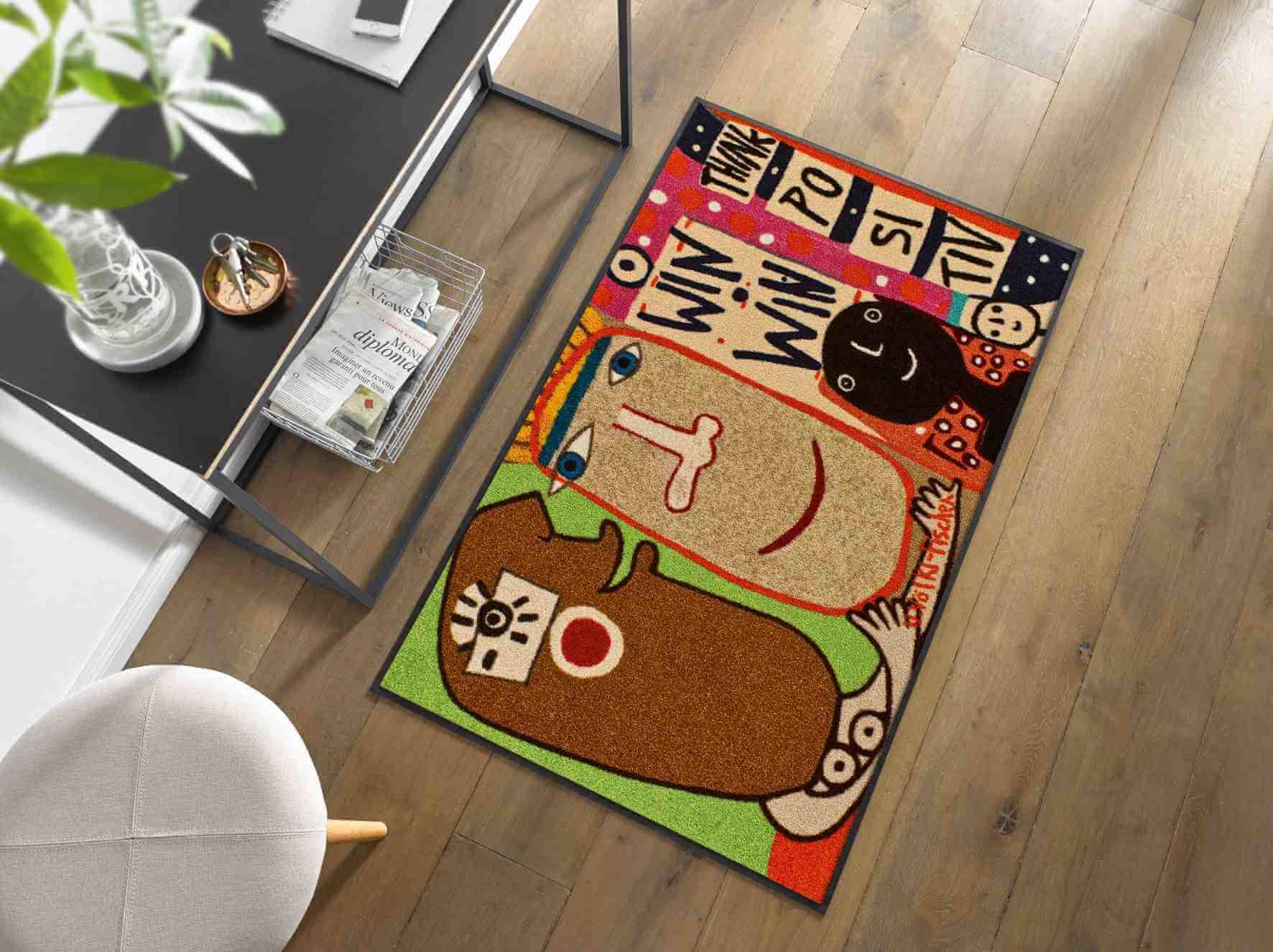 Künstler + Designer Fußmatten
