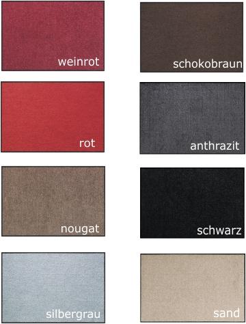 Salonloewe Uni Farben
