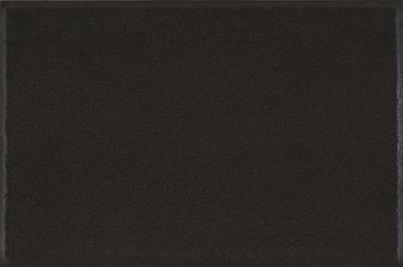 wash+dry Fußmatte einfarbig Raven black Schwarz  – Bild 1