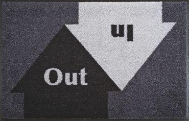In&Out 50 x 75 cm waschbare Fußmatte wash+dry