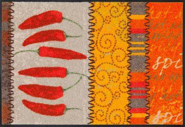 Salonloewe Küchenteppich Chili waschbar trocknergeeignet  – Bild 1