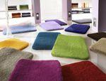 Kleine Wolke Badteppich Relax meliertes Garn 001