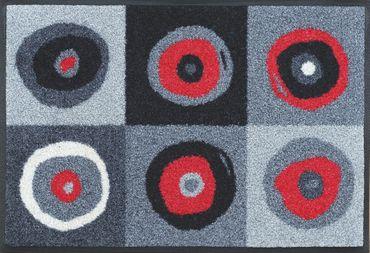 wash+dry Sergej grey waschbare Fußmatte