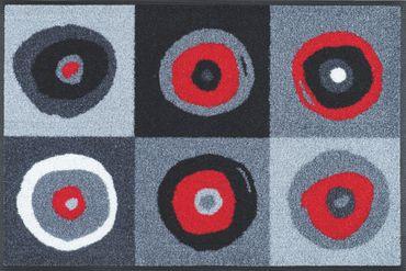 wash+dry Sergej grey waschbare Fußmatte – Bild 2
