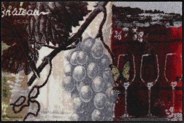 Salonloewe Küchenteppich Chateau Grand Vin waschbar pflegeleicht trocknergeeignet – Bild 2