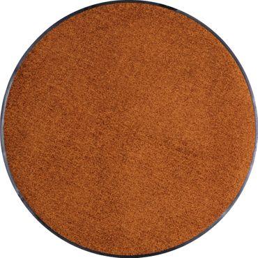 Salonloewe runde Fußmatte 85 cm waschbar rutschfest robust 14 Farben – Bild 6