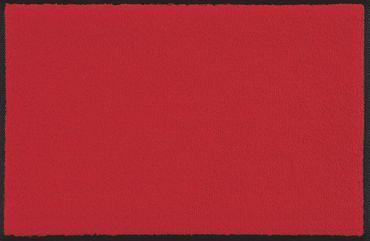 wash+dry Fußmatte Scarlet - rot – Bild 1