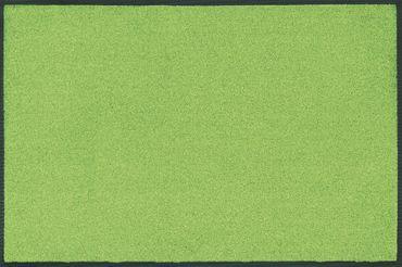 wash+dry Trend-Colour Apple Green waschbare Fußmatte apfelgrün