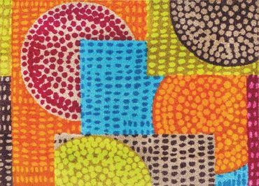 wash+dry Ethno Pop waschbarer Teppich – Bild 2