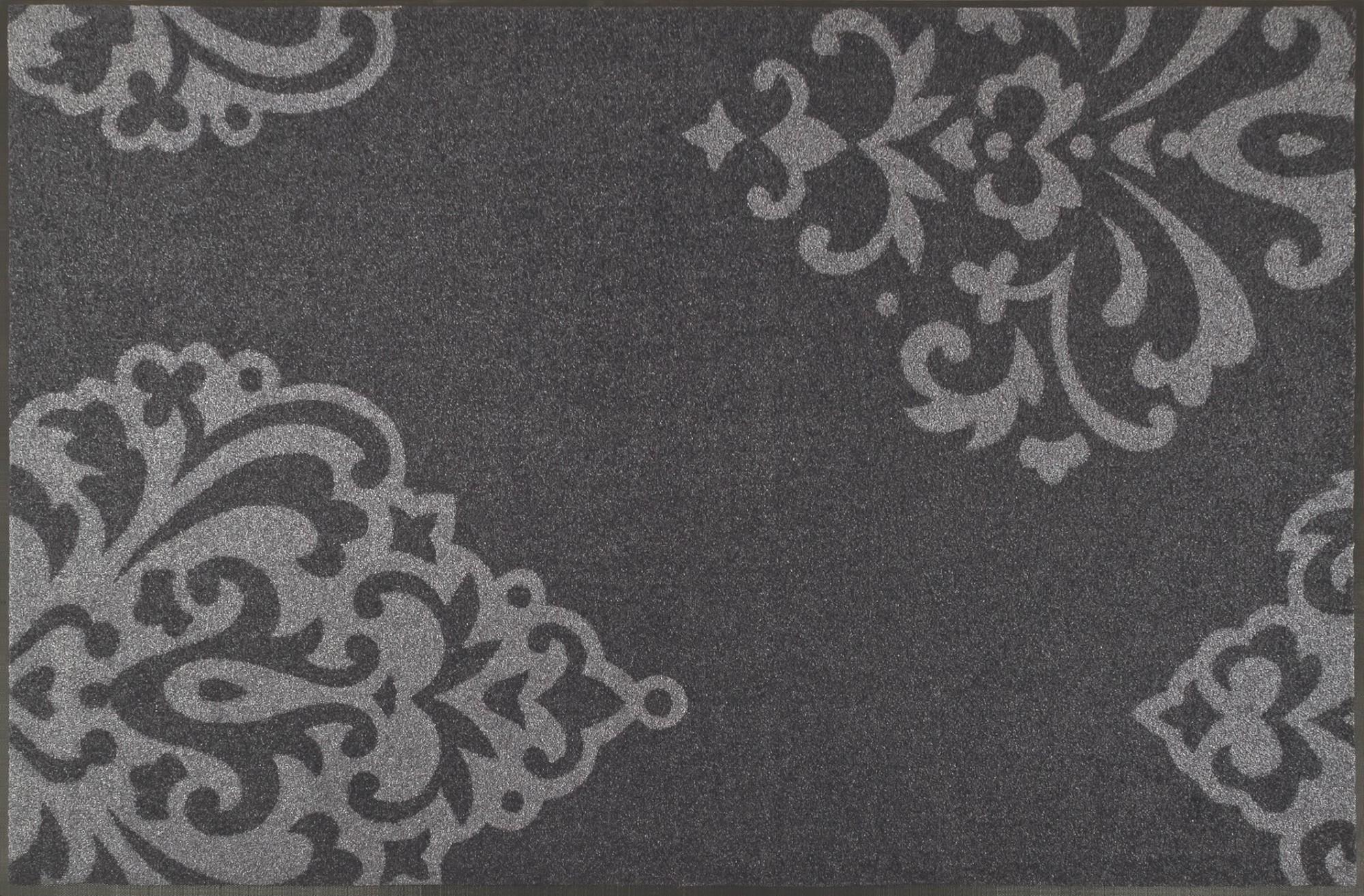 wash dry fu matte lucia grey waschbar rankenmotiv schmutzmatte. Black Bedroom Furniture Sets. Home Design Ideas