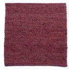 Tisca Handwebteppich Olbia Uni Col. 3310 aus Schurwolle 001