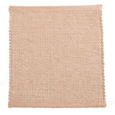 Tisca Handwebteppich Olbia Uni Col. 3300 aus Schurwolle