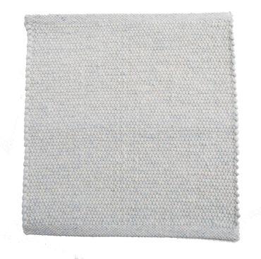 Tisca Handwebteppich Olbia Uni Col. 5500 aus Schurwolle