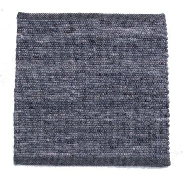 Tisca Handwebteppich Olbia Uni Col. 1812 aus Schurwolle – Bild 1