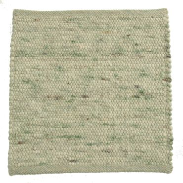 Tisca Handwebteppich Olbia Uni Col. 4402 aus Schurwolle