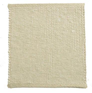 Tisca Handwebteppich Olbia Uni Col. 4400 aus Schurwolle – Bild 1