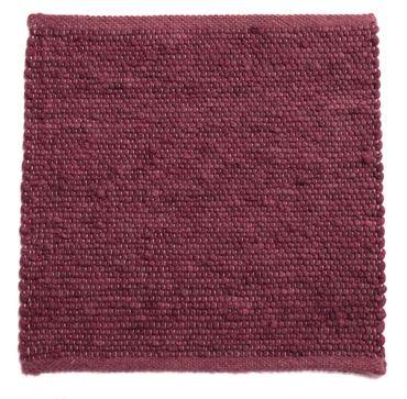 Tisca Handwebteppich Olbia Uni Col. 3311 aus Schurwolle – Bild 1