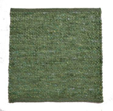 Tisca Handwebteppich Olbia Uni Col. 4405 aus Schurwolle