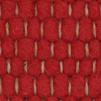 Tisca Handwebteppich Olbia Uni Col. 3320 aus Schurwolle – Bild 2