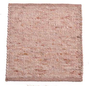 Tisca Handwebteppich Olbia Uni Col. 3303 aus Schurwolle – Bild 1