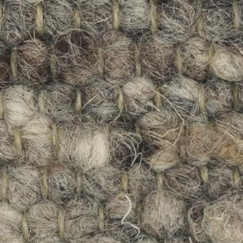 Tisca Handwebteppich Olbia Uni Col. 1803 aus Schurwolle – Bild 2