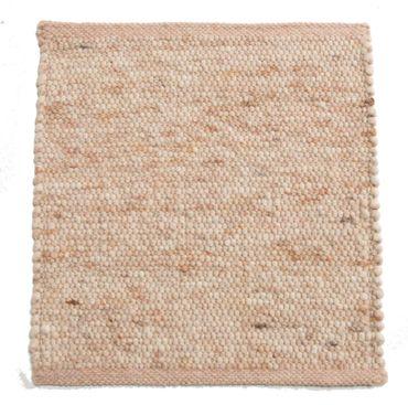 Tisca Handwebteppich Olbia Uni Col. 1332 aus Schurwolle – Bild 1