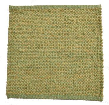 Tisca Handwebteppich Olbia Uni Col. 4603 aus Schurwolle – Bild 1