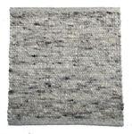 Tisca Handwebteppich Olbia Uni Col. 1802 aus Schurwolle 001