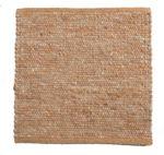 Tisca Handwebteppich Olbia Uni Col. 1663 aus Schurwolle 001