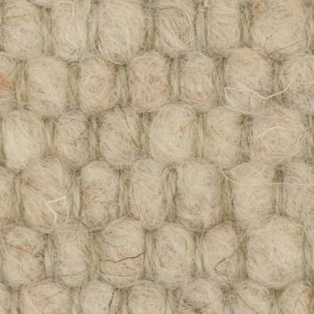 Tisca Handwebteppich Olbia Uni Col. 1003 aus Schurwolle – Bild 2