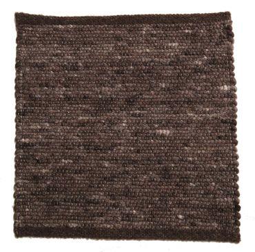 Tisca Handwebteppich Olbia Uni Col. 1223 aus Schurwolle – Bild 1