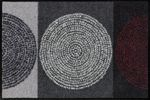 Salonloewe Fußmatte Nestor waschbar 5 Größen Kreise Schmutzmatte robust